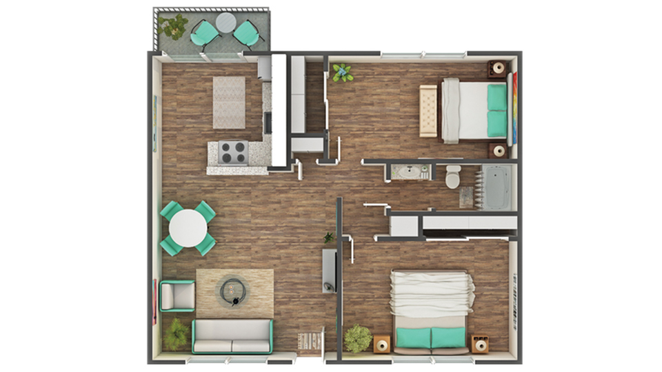 Floor Plan Layout   ReNew Park Blu Apartment Homes for Rent in Fairfield CA 94533