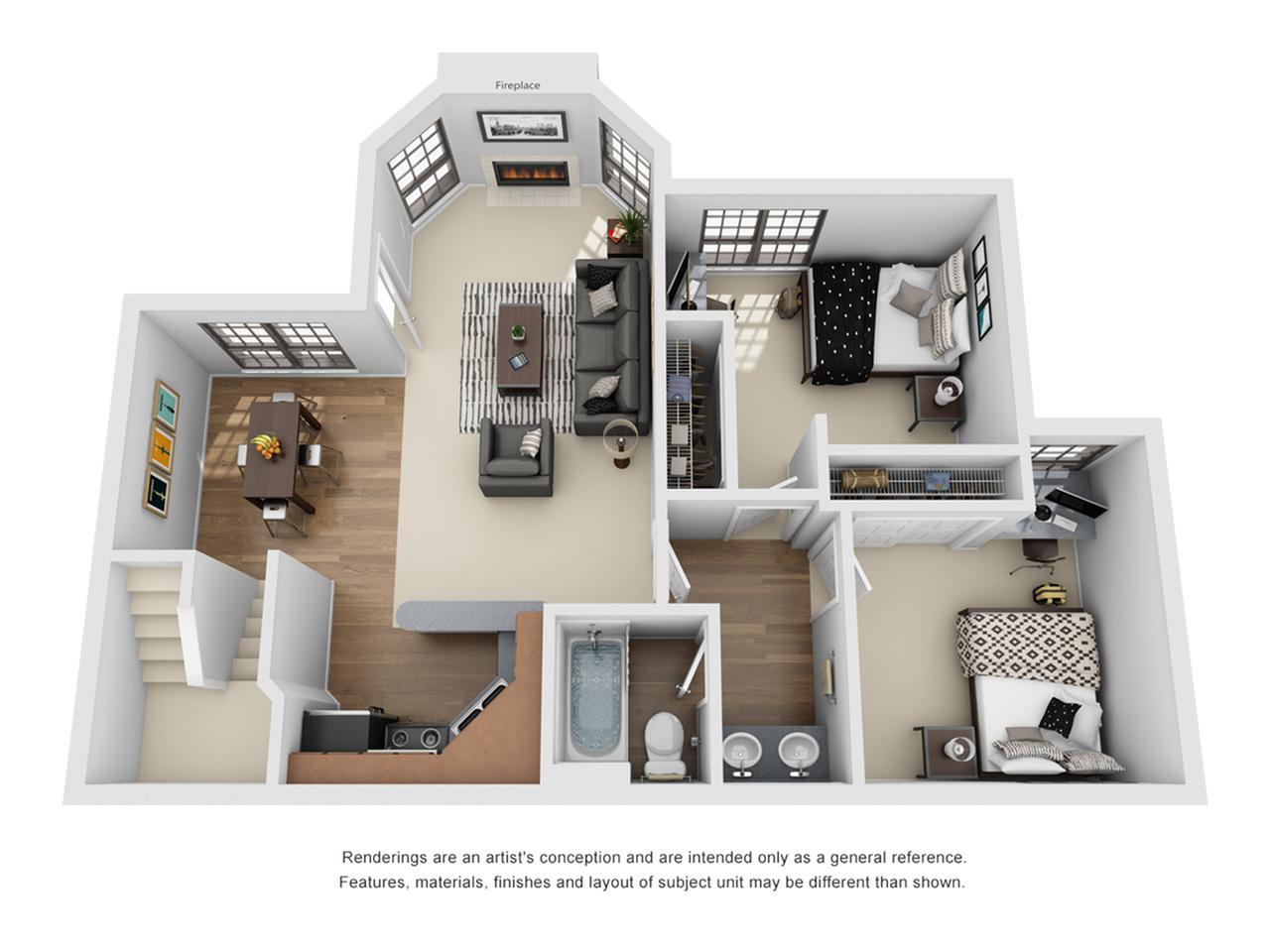 4 Bedroom Apartments In Auburn AL | The Hub at Auburn