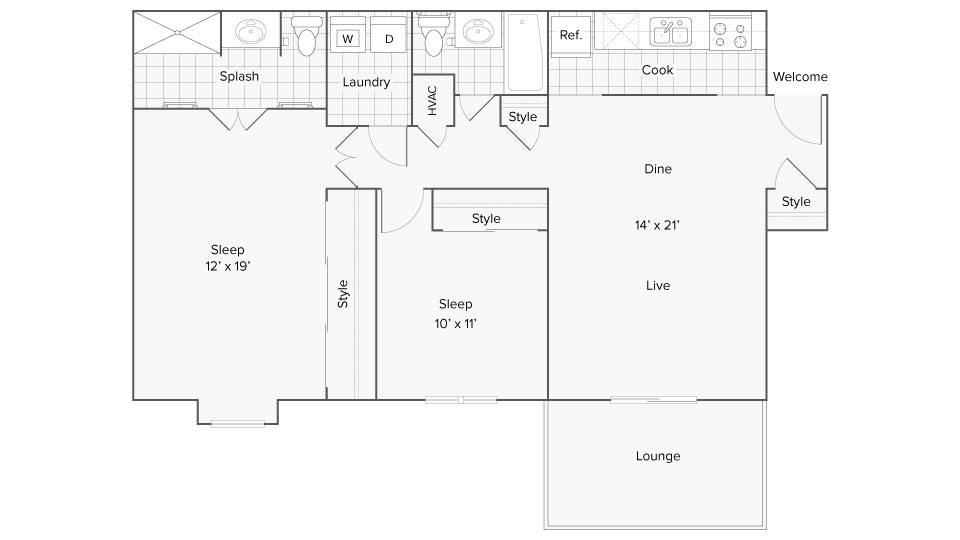 Floor Plan Image   400 Winchester Apartments for Rent Vinings GA 30339
