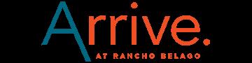 Arrive at Rancho Belago Logo