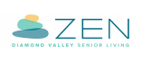 Zen Diamond Valley Senior Living | Senior Living Apartment Homes for Rent | Hemet CA 92543 | Zen Senior Living Diamond Valley Logo
