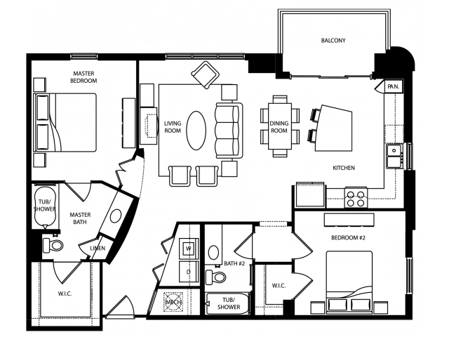 Abbey Floor Plan