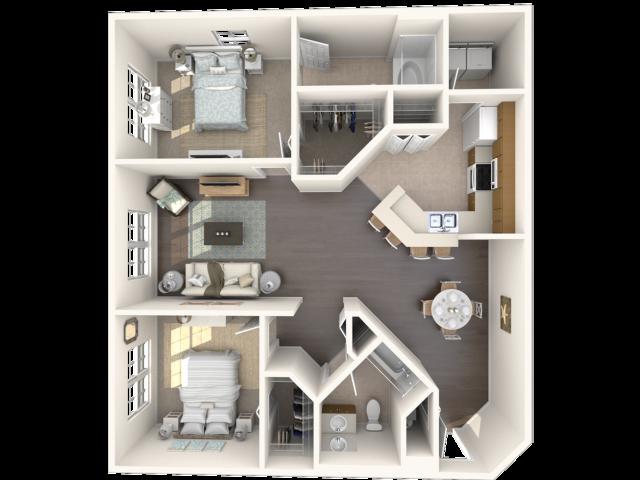 Cocoplum floor plan