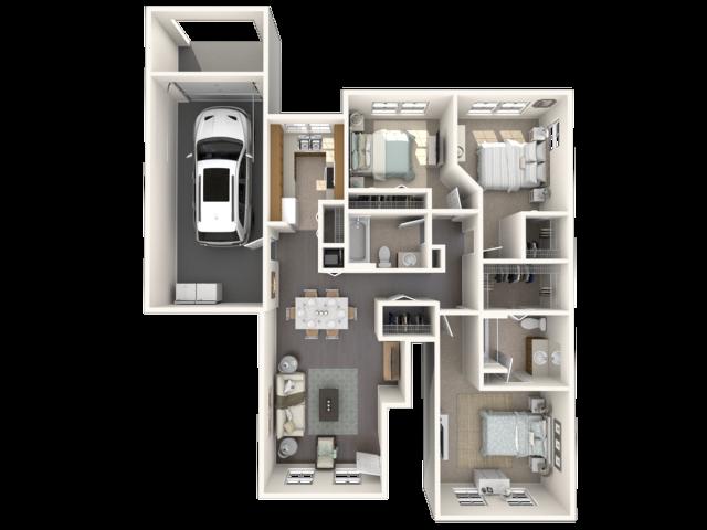 Jacaranda floor plan