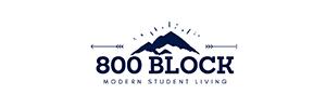 800 Block Student Housing at Utah State University
