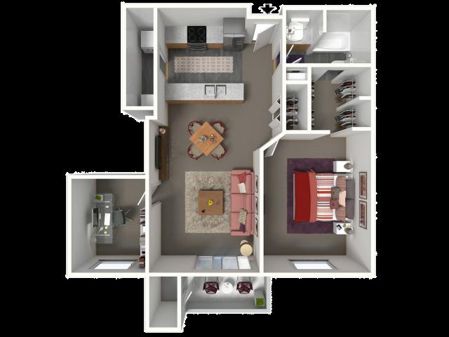 Canterbury | Saddle Brook Apartments | Apartments in Pewaukee, WI