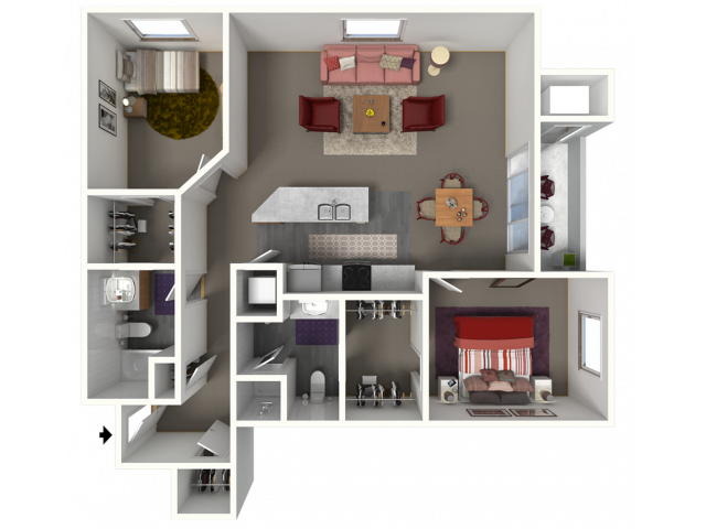Churchill Downs III | Saddle Brook Apartments | Apartments in Pewaukee, WI