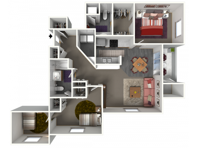 Triple Crown II | Saddle Brook Apartments | Apartments in Pewaukee, WI