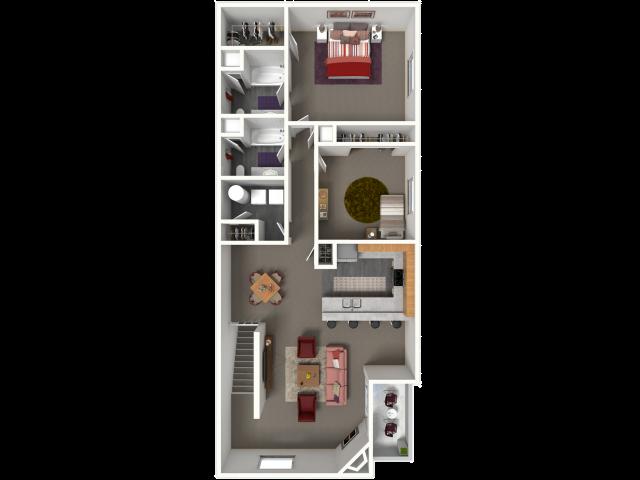 Thoroughbred II | Saddle Brook Apartments | Apartments in Pewaukee, WI