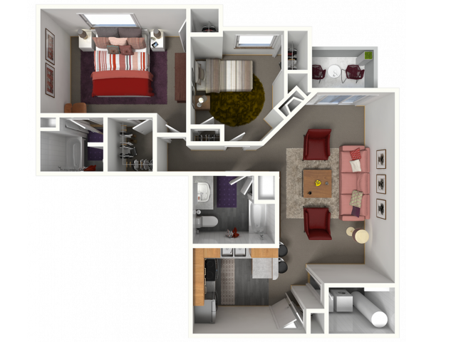 Thoroughbred I | Saddle Brook Apartments | Apartments in Pewaukee, WI