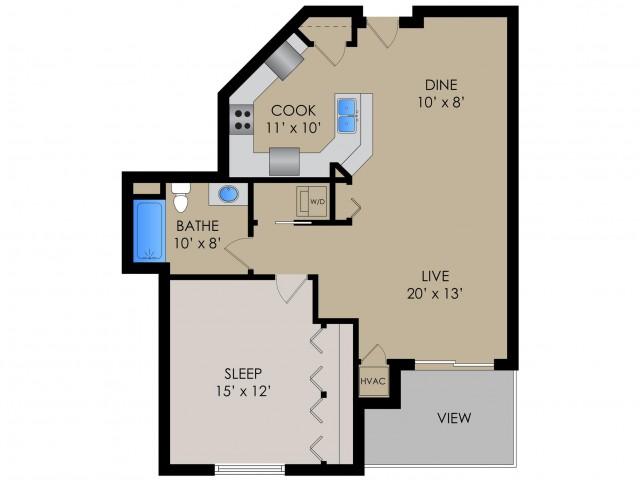 The Cambridge I | Barrington Place | Apartments in Madison, WI