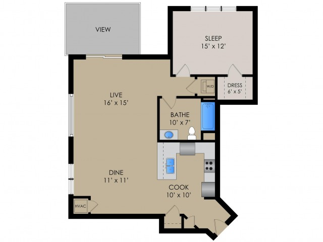 The Cambridge II | Barrington Place | Apartments in Madison, WI
