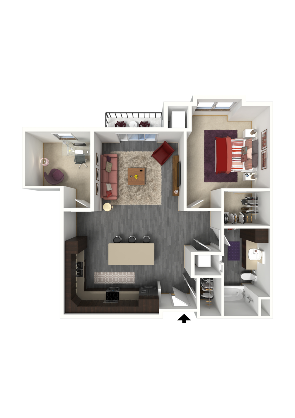 Floor Plan C6 | 1 Glenn Place | Apartments in Fitchburg, WI