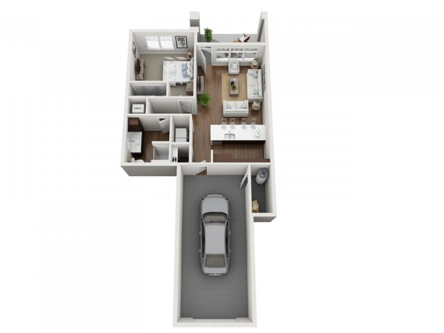 Floor Plan 1I | Seasons at Orchard Hills | Apartments in Oak Creek, WI