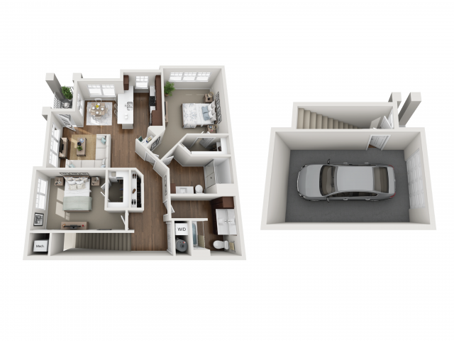 Floor Plan 2I | Seasons at Orchard Hills | Apartments in Oak Creek, WI