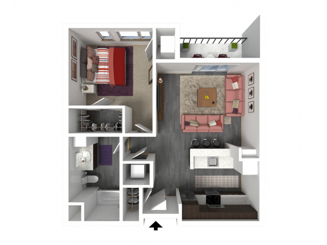 Floor Plan B2   Forte at 84 South   Apartments in Greenfield, WI