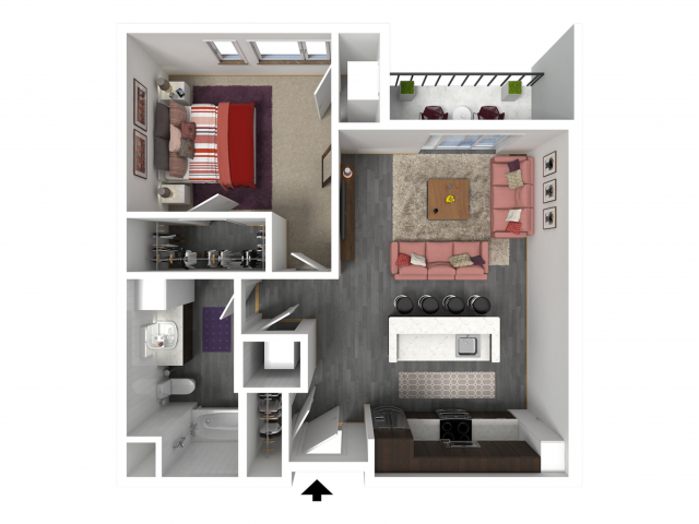 Floor Plan B5   Forte at 84 South   Apartments in Greenfield, WI