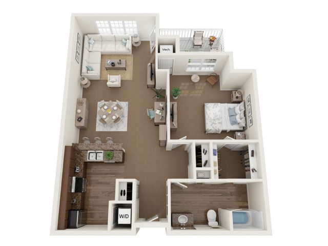 The Cambridge III | Barrington Place | Apartments in Madison, WI