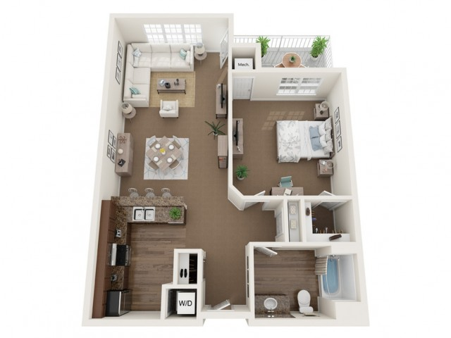 The Coventry I | Barrington Place | Apartments in Madison, WI