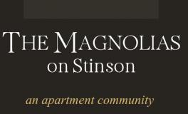 The Magnolias on Stinson Logo