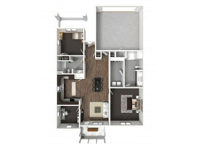 2 Bedroom Model A
