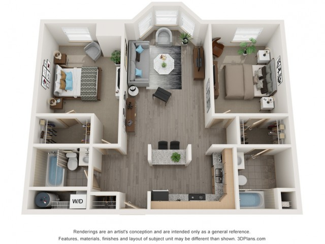 Two Bedroom Split 2 Bed Apartment Coventry Apartments
