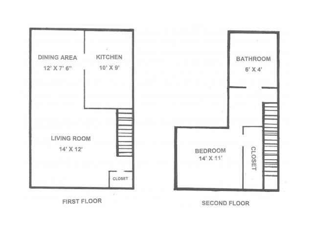 One Bedroom | 775 sqft
