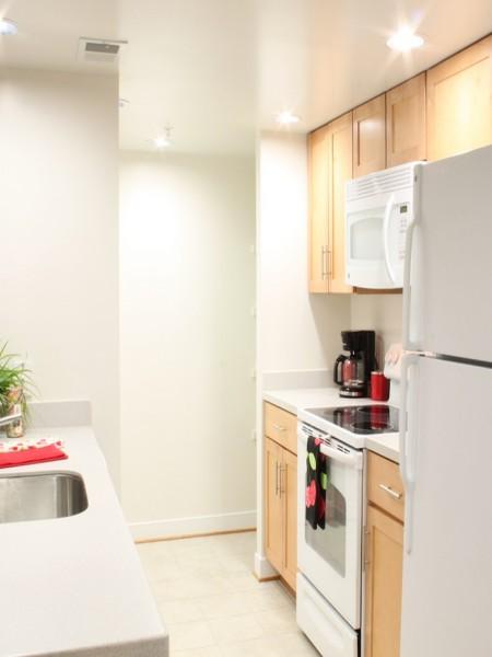 Modern Kitchen | Arlington VA Apartment | Thomas Court