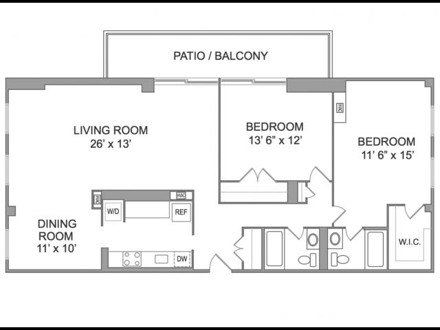 2 Bedroom Apts in Arlington VA | Wildwood Park