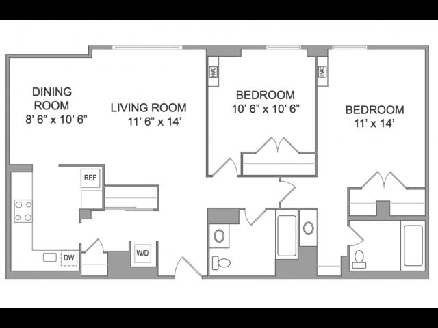 2 Bedroom Apts in Arlington VA | Wildwood Park 4
