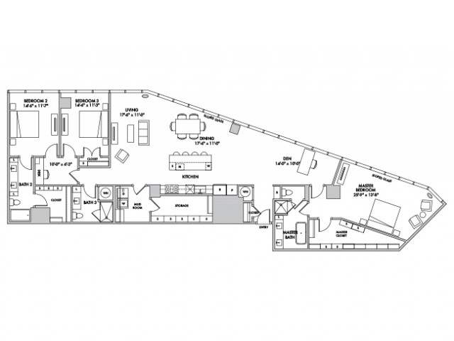 P4310 Floorplan Image