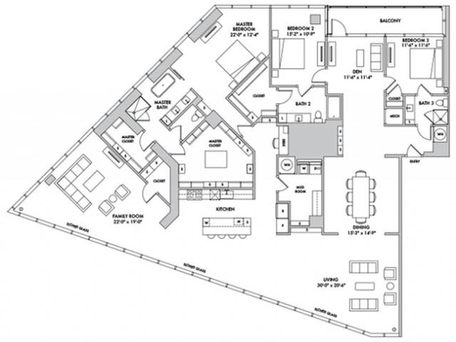 P4301 Floorplan Image