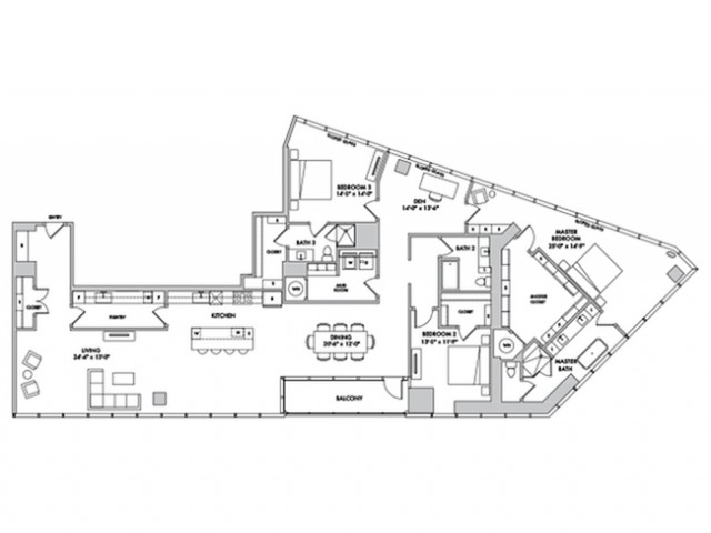 P4503 Floorplan Image