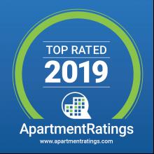 Award for 2019 Top Apartment Rating