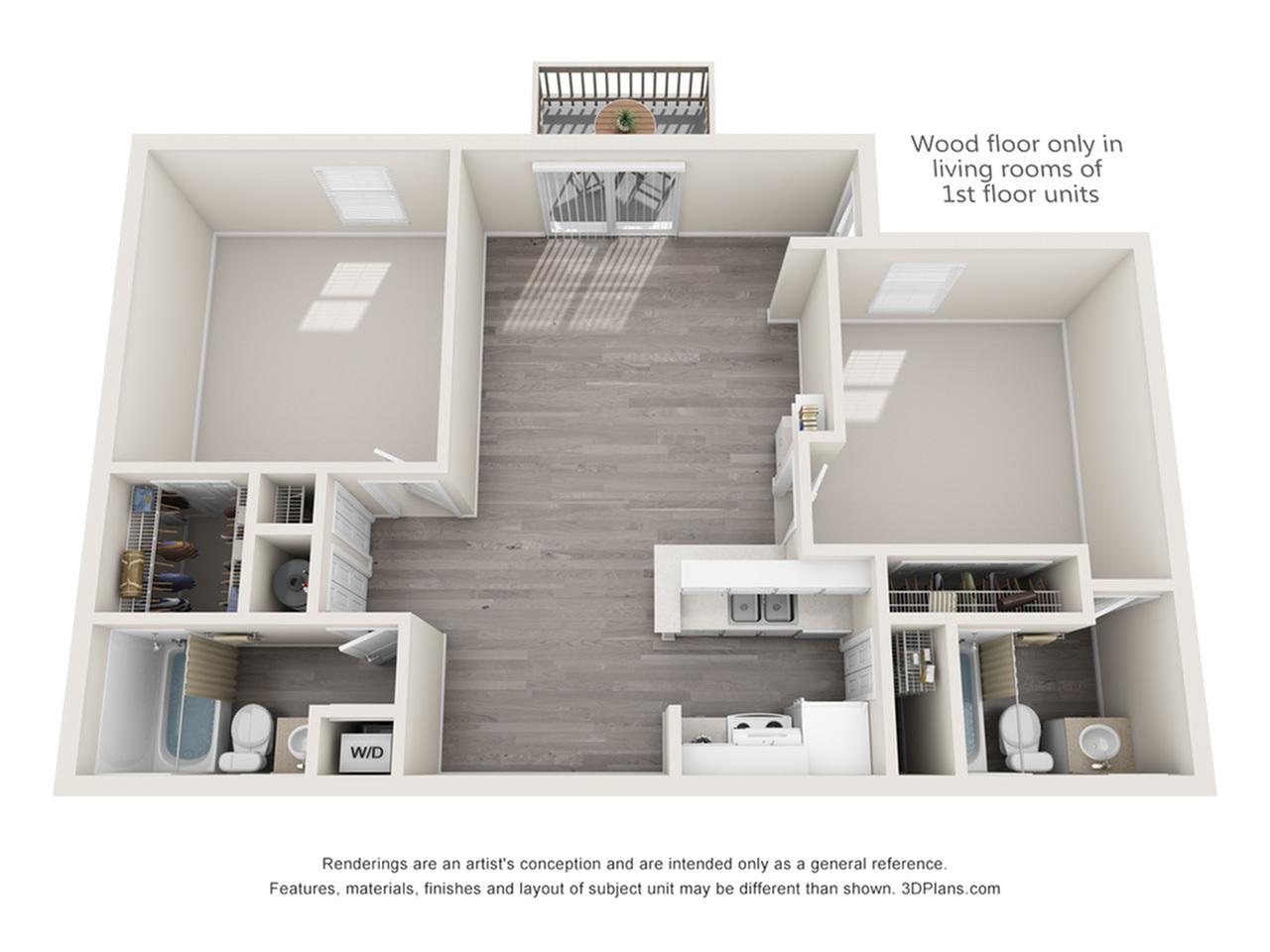 Crenshaw Floor Plan