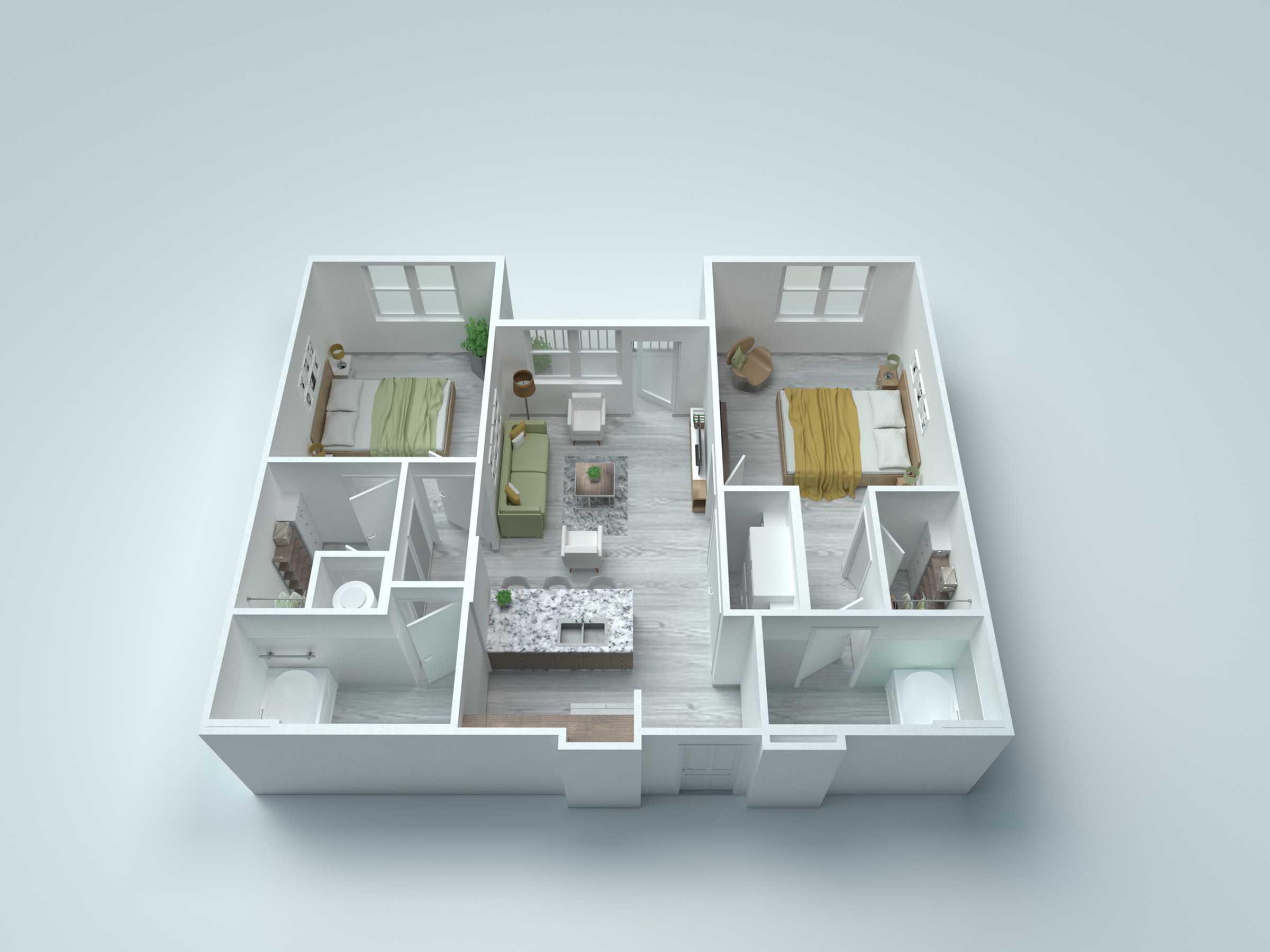 B1 Alt2 Floor Plan