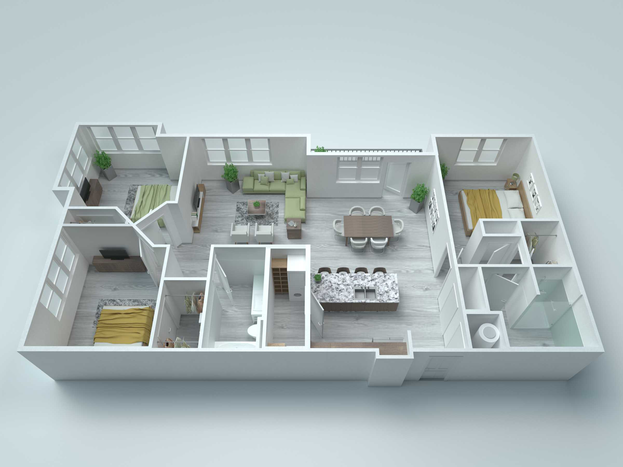 C3 Type A Floor Plan