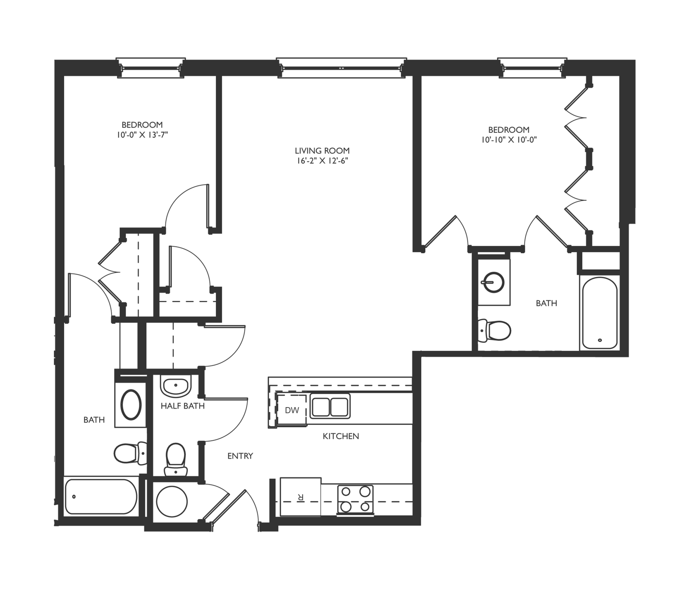 B3 Floor Plan Images