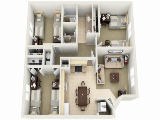 La Jolla Floor Plan
