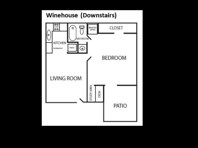 Winehouse floorplan
