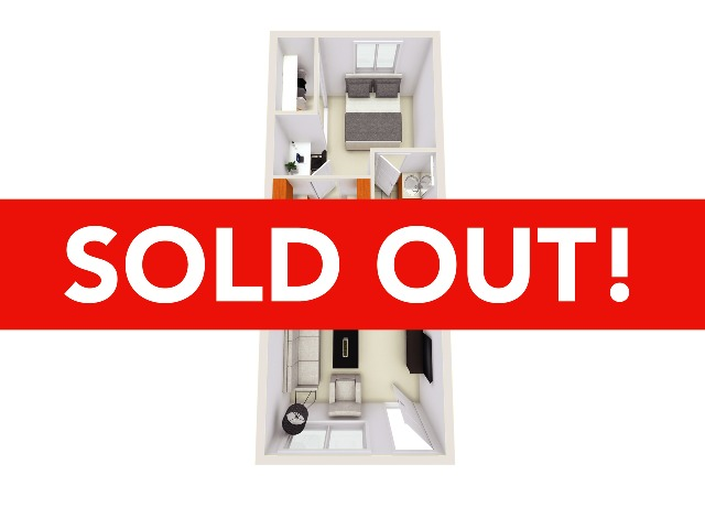 1x1 Furnished Sold Out