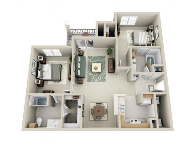 Superb 2 Bed 2 Bath Apartment In Midwest City Ok The Lodge Download Free Architecture Designs Embacsunscenecom