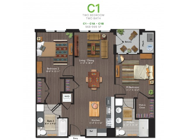 Floor Plan 2 | ValleyBloom 6