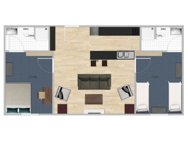 2 Bed