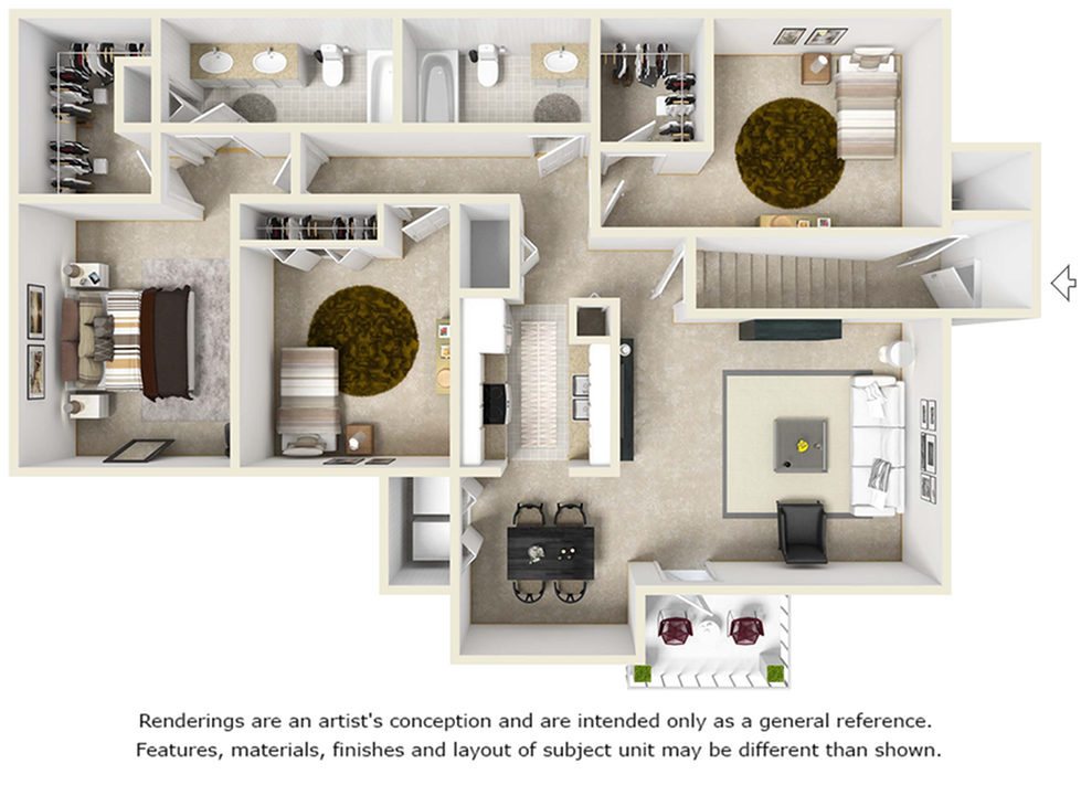 Gathering Floor Plan