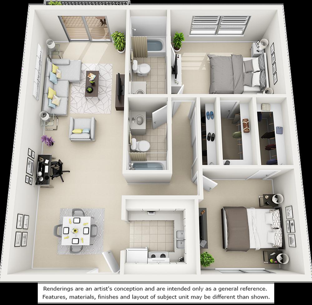 Magnolia with Premium Finishes Floor Plan