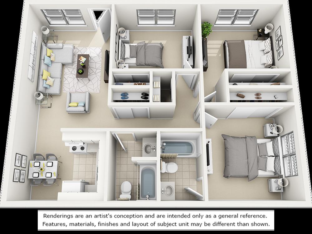 Maple with Premium Finishes Floor Plan
