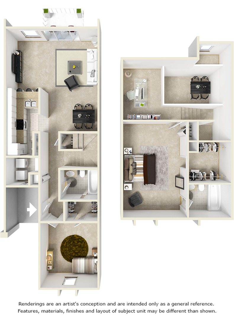 Westin with Premium Finishes, Wood Style Flooring Floor Plan