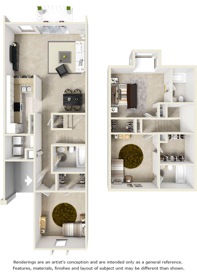 Biltmore with Premium Finishes, Wood Style Floors Floor Plan