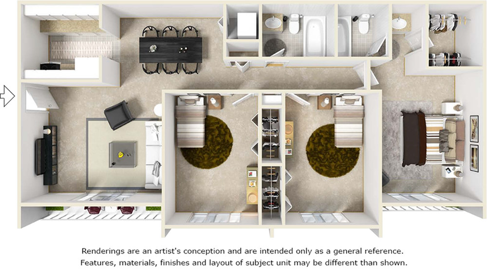 The Lantana Floor Plan